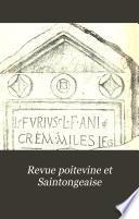 Revue poitevine et Saintongeaise