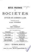 Revue pratique des sociétés civiles et commerciales