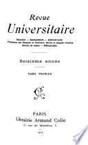 Revue Universitaire