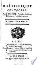 Rhétorique françoise...