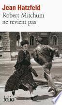 Robert Mitchum ne revient pas