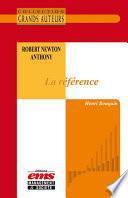 Robert Newton Anthony - La référence
