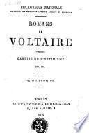 Romans de Voltaire