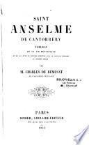 Saint Anselme de Cantorbéry