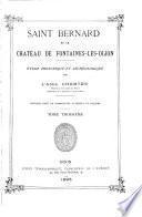 Saint-Bernard et le chateau de Fontaines-les-Dijon