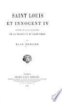 Saint Louis et Innocent IV