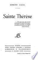 Sainte Thérèse ...