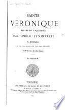 Sainte Véronique, apôtre de l'Aquitaine