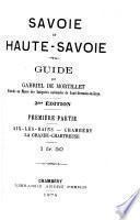Savoie et Haute-Savoie, guide