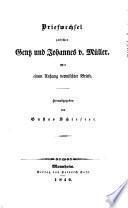 Schriften von Friedrich von Gentz