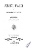 Scritti d'arte di Francesco Dall'Ongaro