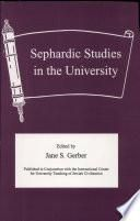Sephardic Studies in the University