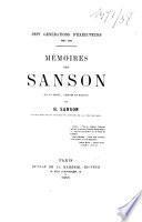 Sept générations d'exécuteurs 1688-1847
