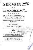 Sermons de Jean-Baptiste Massillon, Eveque de Clermont