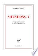 Situations (Tome 5) - Mars 1954 - avril 1958