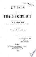 Six mois avant la première communion