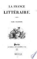 """""""La"""" France litteraire"""