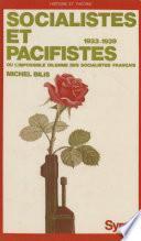 Socialistes et pacifistes