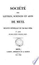 Société des lettres, sciences et arts, et d'agriculture de Metz