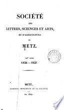 SOCIETE DES LETTRES, SCIENCES ET ARTS