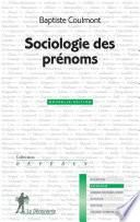 Sociologie des prénoms