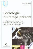 Sociologie du temps présents