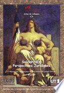 Solidarité(s) : Perspectives juridiques
