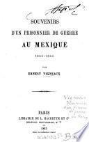 Souvenirs d'un prisonnier de guerre au Mexique, 1854-1855