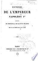 Souvenirs de l'empereur Napoléon Ier