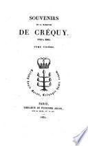 Souvenirs de la marquise de Crequy