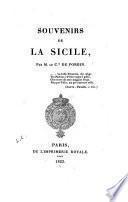 Souvenirs de la Sicile