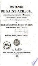 Souvenirs de Saint-Acheul, etc...