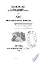 Souvenirs de Saint-Acheul ...ou vie de quelques jeunes étudians