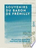 Souvenirs du baron de Frénilly