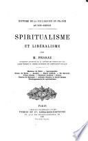 Spiritualisme et Libéralisme