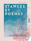 Stances et Poèmes