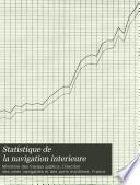 Statistique de la navigation interieure