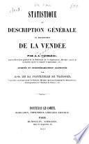 Statistique ou description générale du département de la Vendée
