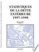 Statistiques de la dette extérieure 1999