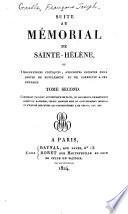 Suite au Mémorial de Sainte-Hélène