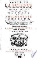 Suite De La Science Des Personnes De Cour, D'Epée Et De Robe