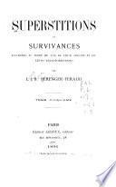 Superstitions et survivances