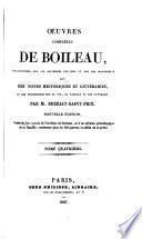 Œuvres complètes, avec des notes par m. Berriat-Saint-Prix