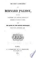 Œuvres complètes de Bernard Palissy