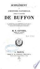 Œuvres complètes de Buffon