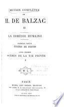 Œuvres complètes de H. de Balzac: dixain: Prologue. Les trois clercs de Sainct-Nicholas. Le jeusne de Françoys premier