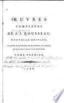 Œuvres completes de J.J. Rousseau: La nouvelle Héloïse