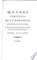 Œuvres completes de J.J. Rousseau: Lettres élémentaires sur la botanique