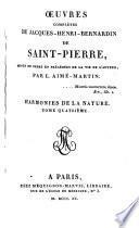 Œuvres complètes de Jacques-Henri-Bernardin de Saint-Pierre