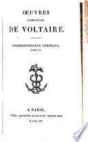 Œuvres complétes de Voltaire: Correspondance générale